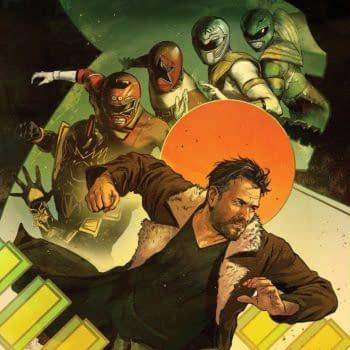 Kyle Higgins and Giuseppe Cafaro Tell the Untold Story of the Green Ranger in New Power Rangers OGN