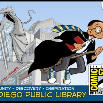 Lucas Turnbloom's Harry Potter-Styled San Diego Public Library Card