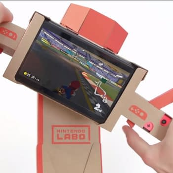 You Can Now Play Mario Kart 8 Deluxe With Labo Gear