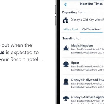 You Can Now Check Bus Wait Times on the My Disney Experience App