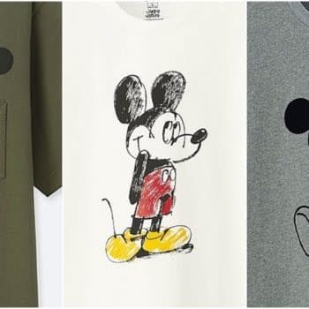 mickey mouse mickey art line uniqlo