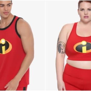 incredibles 2 hot topic workout gear