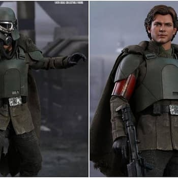 Han Solo Mudtrooper Version from Hot Toys Coming in 2019
