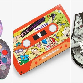 Get Your Nerd on with These Creative Eyeshadow Palettes from Hot Topic
