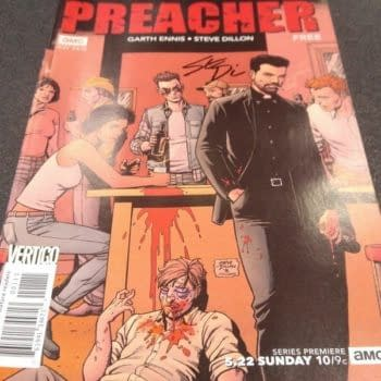 Meeting Steve Dillon While Cosplaying Jesse Custer [The Road to Angelville: Bleeding Cool's 'Preacher' Week]