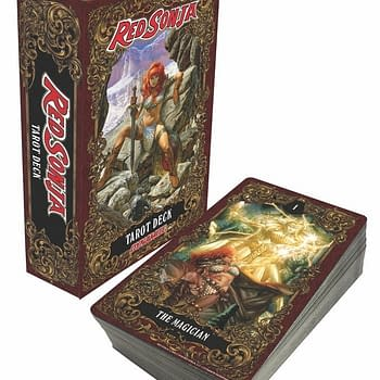 Dynamite Unveils Red Sonja Tarot Card Deck