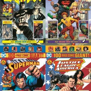 DC Replaces Walmart 100-Page Giants With Four-Packs of Comics