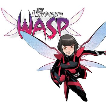 The Unstoppable Wasp is Back with a New Ongoing Series by Jeremy Whitley and Gurihiru