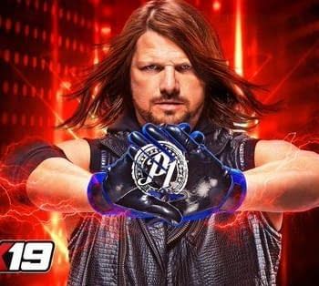 AJ Styles is the WWE 2K19 Cover Star