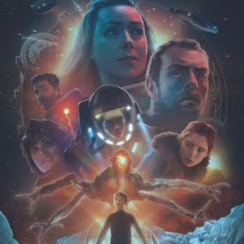 Countdown to Danger: Netflix's Lost in Space Gets a Comic Book Spinoff by Richard Dinnick, Brian Buccellato, and Zid
