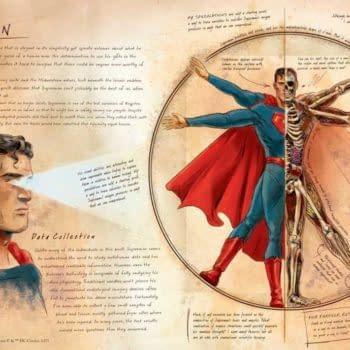 Ming Doyle Announces New DC Book 'Anatomy of a Metahuman', Reveals Bruce Wayne's Art Skills