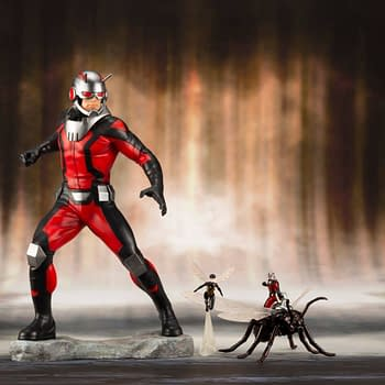 Ant-Man and a Teeny Tiny Wasp Statues in February From Kotobukiya