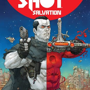 Valiant Previews Bloodshot Salvation #11 Archer &#038 Armstrong Deluxe Edition