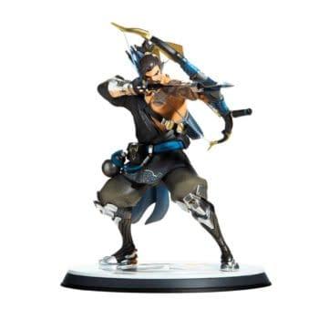 Blizzard Overwatch Hanzo Statue 1