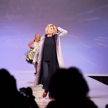 New Doctor Who Jodie Whittaker Surprises 'Her Universe' Fashion Show at SDCC