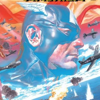 Captain America #1 cover by Alex Ross