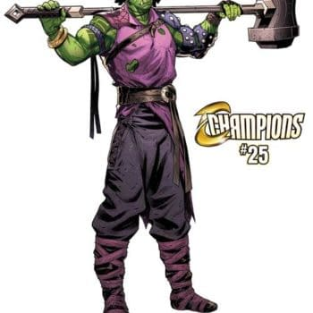 """Marvel Teaser for Champions 25 Asks: """"Change the World?"""" as Amadeus Cho Gets Weird"""