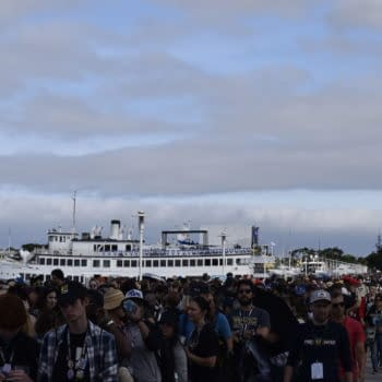 Absurdly Long Lines, Over-Capacity Crowd at SDCC's Indigo Ballroom Today