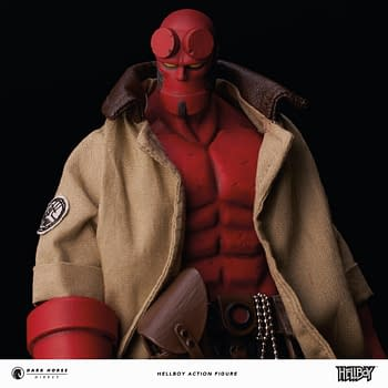 Hellboy Gets a New 1/12 Scale Figure from Dark Horse Direct