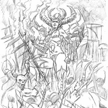 Marv Wolfman and Piotr Kowalski Create a Diablo Comic for Blizzard and Titan