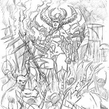 Marv Wolfman and Piotr Kowalski Create a Diablo Comic for Blizzard and Titan