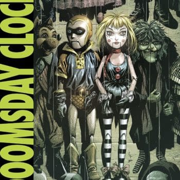 Doomsday Clock #6 cover by Gary Frank and Brad Anderson