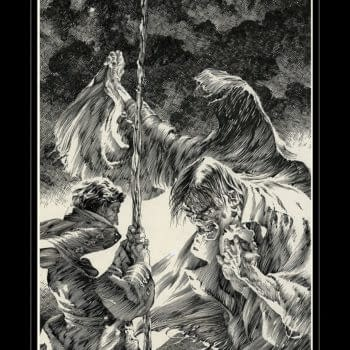 Bernie Wrightson's Frankenstein Gets the Artist's Edition Treatment at IDW