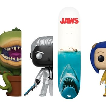 Funko Round-Up: Jaws Skateboard Spider-Man Coraline Gremlins and More