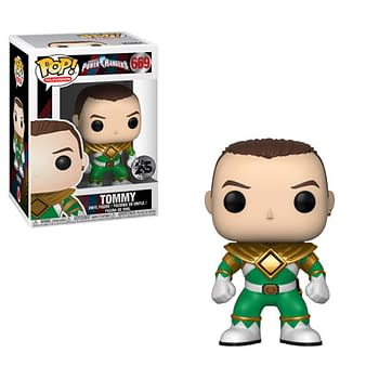 Funko Mighty Morphin Power Rangers Green Ranger Pop