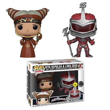 Funko Mighty Morphin Power Rangers Rita Zed Two Pack Pop
