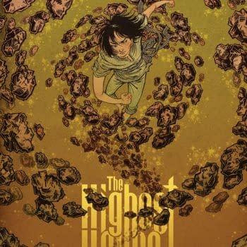 Highest House #5 cover by Yuko Shimizu