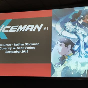 [Breaking] New Iceman #1 Villain Plus More Series Details Revealed at SDCC 2018