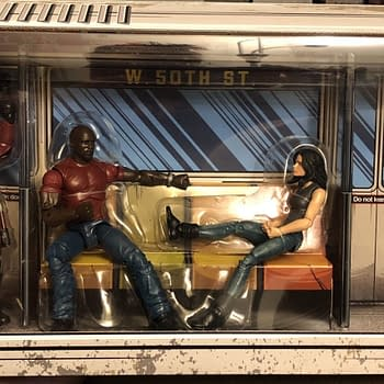 Lets Take an Early Look at the Marvel Legends Defenders Rail Authority SDCC Exclusive Set