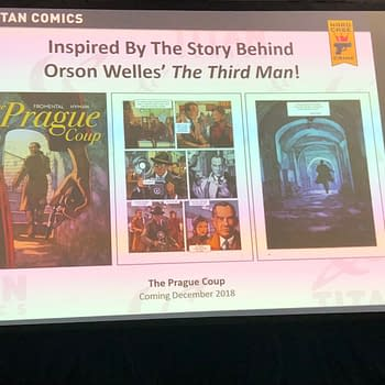 Titan to Publish Comic Based on Orson Welless The Third Man: The Prague Coup
