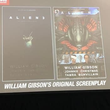 Get a Sneak Peek at What Alien 3 Should Have Been in First Page from Comic of William Gibsons Screenplay