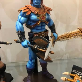 Check Out 40 Photos From Mondo's SDCC Booth: Masters of the Universe, TMNT, and More!