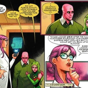 Jim Zub Starts a Sequel to The Vision in Champions #22 [Spoilers]