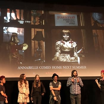 New Line Cinema Announces a 3rd Movie in the Annabelle Series at Scarediego