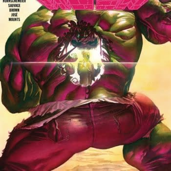 The Immortal Hulk #3 cover by Alex Ross