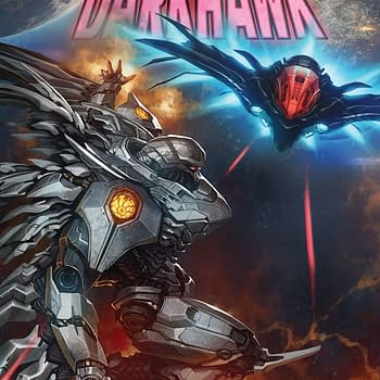 Infinity Countdown: Darkhawk #4 Review &#8211 Mecha Darkhawk vs. Dark Starhawk