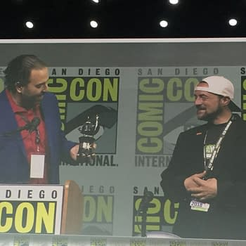 Kevin Smith at SDCC: He Wasnt Even Supposed to Be Here Today