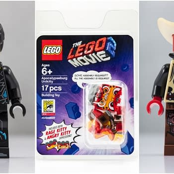 LEGO SDCC Minifig Exclusives Include Unikitty Black Lightning and Cowboy Deadpool