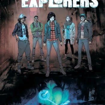 Lost City Explorers #2 cover by Rafael de la Torre and Marcelo Maiolo