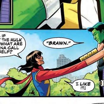 Hulk No More: Amadeus Cho is Now Called Brawn