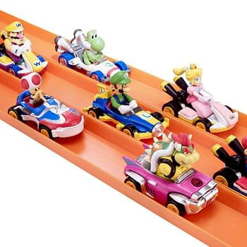Hot Wheels and Nintendo Team Up for Mario Kart Inspired Cars