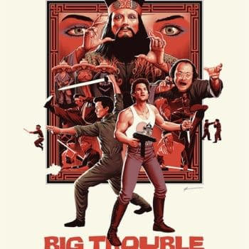Mondo Big Trouble in Little China Poster