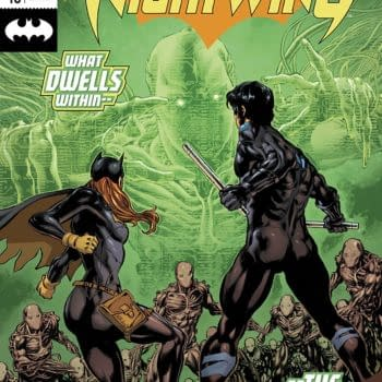 Nightwing #46 cover by Mike Perkins and Dave McCaig