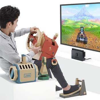 Nintendo Introduces the New Labo Vehicle Kit This Week