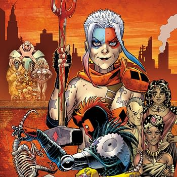 Old Lady Harley Details and Deathstroke vs. Yogi Bear is Frank Tieris Most Violent Book [SDCC]