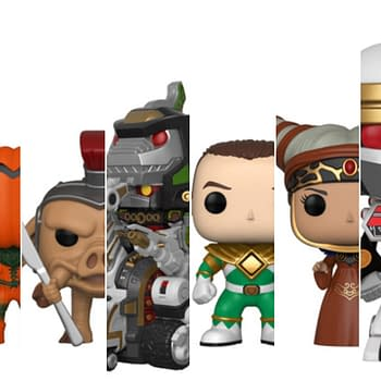 Power Rangers Pop COllage